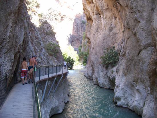 Saklikent Milli Parki: Gorge pathway