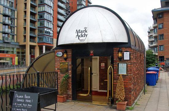 Mark Addy: Main Entrance