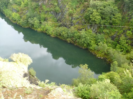 Adrenalin Quarry : view from the swing