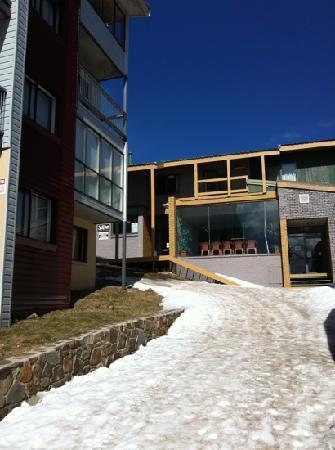 Alpine Heights: main entrance