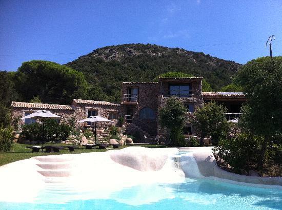 Hotel Ambassador Palombaggia : hôtel piscine