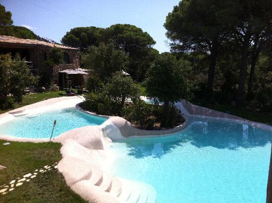 Hotel Ambassador Palombaggia : piscine