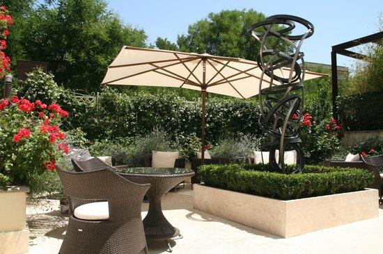 Hotel Villa Duse: GArden