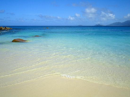 Anse Soleil Beachcomber: Il mare.....
