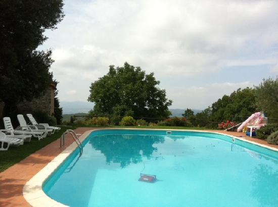 Villa Tatti: La Piscina