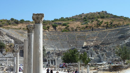 Ephesus Expert - Day Tours: Its huge!!