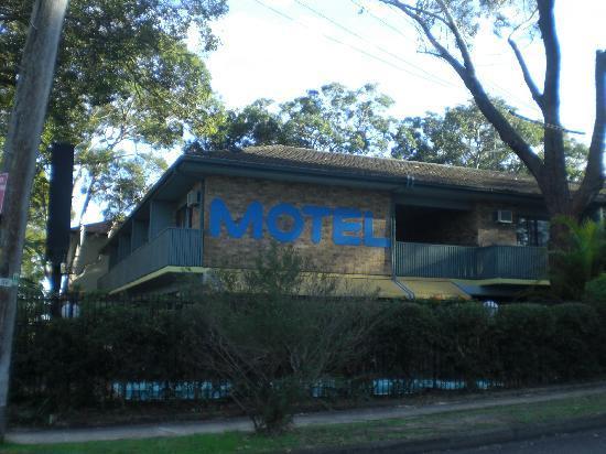 Port Stephens Motel: Motel from the outside