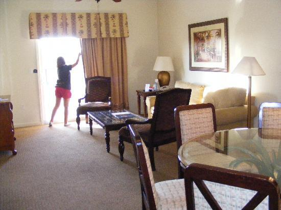 Lake Buena Vista Resort Village & Spa: Room view from entry