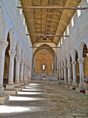 Aquileia, Italy: Inside the Basilica