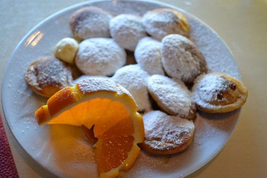 Cafe 't Singeltje: minipancakes dolci