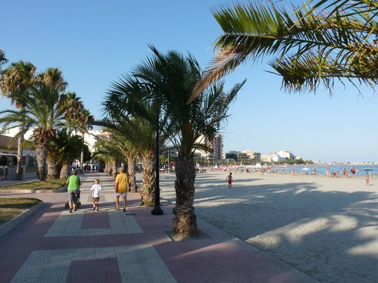 San Pedro del Pinatar, Spanien: The Beach in Lo Pagan