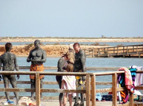 San Pedro del Pinatar, Spania: The mud bath in Lo Pagan