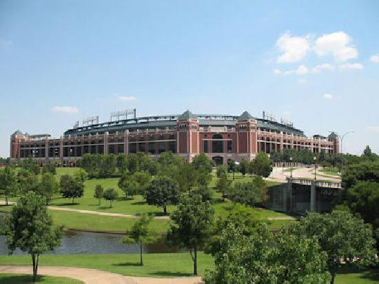 Residence Inn Dallas Park Central: Visit the home of the Texas Rangers!