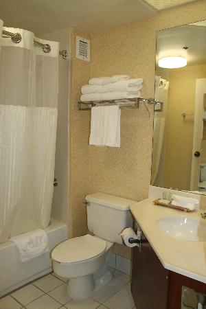 SureStay Plus Hotel by Best Western Chicago Lombard: Bathroom