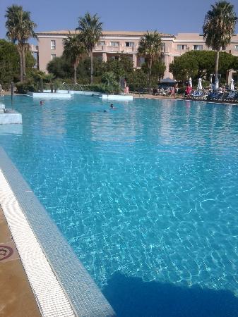 Valentin Sancti Petri Hotel Chiclana : Gran piscina.para nosotros solos.