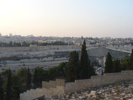 Ritz Hotel : vista di Gerusallemme dal monte Sion