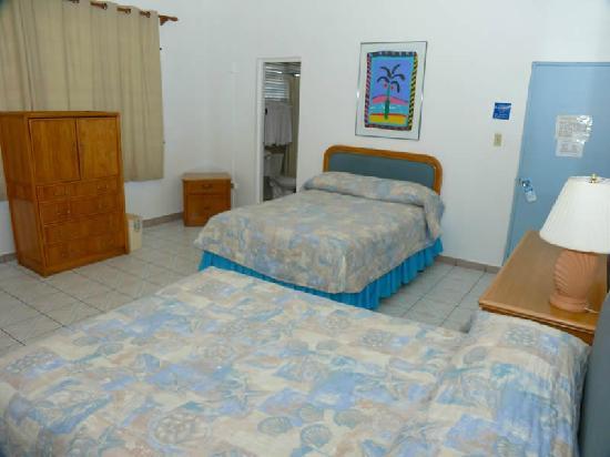 Borinquen Beach Inn : Guestroom