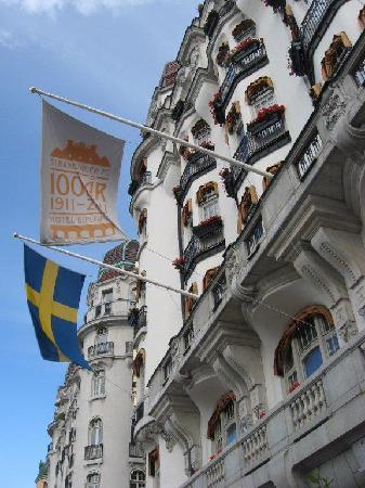Hotel Diplomat: Diplomat voorgevel