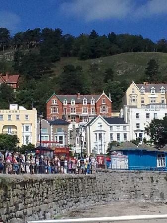 Beaulieu House: The Beaulieu, as seen from the Promenade.