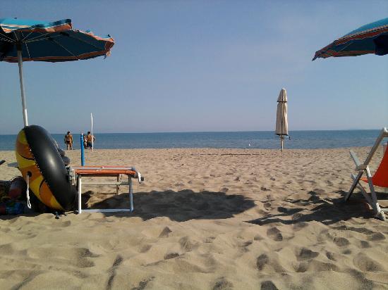Villaggio Club Albatros: mare