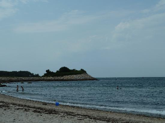 Falmouth, MA : The Knob as seen from the beach