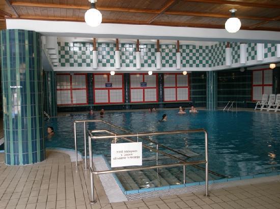 Hotel Vitarium: La seconda piscina interna dell'hotel