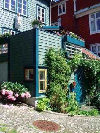 AnneHelene's B&B: The house from outside