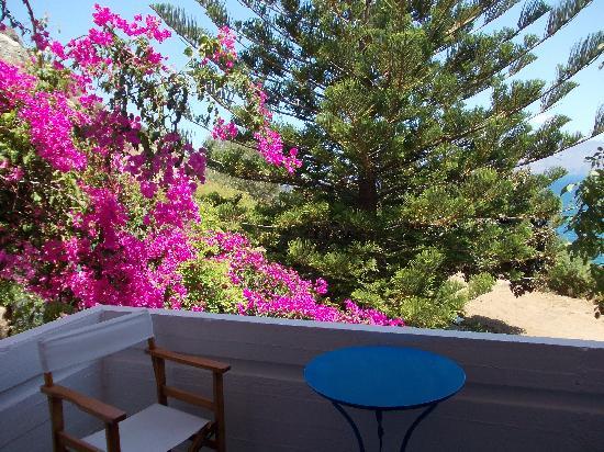 Delfini Hotel Apartments Crete: balconcino