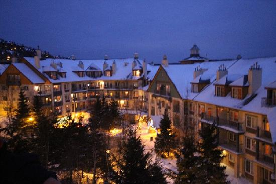 Le Sommet des Neiges : view from the room