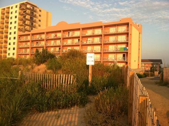 EconoLodge Oceanfront Ocean City: Rodeway Inn Ocean Front
