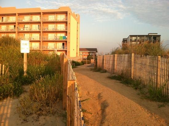 EconoLodge Oceanfront Ocean City: Rodeway Inn