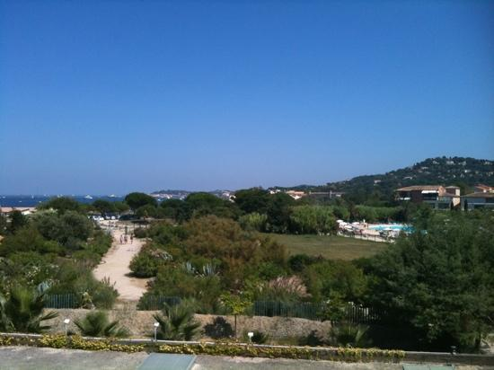 Résidence Maeva Les Marines de Gassin : vue balcon