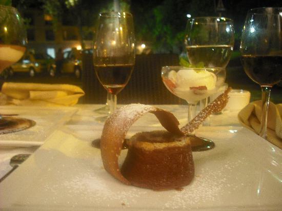 Restaurante Mozart: Example of dessert
