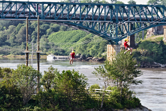 Saint John Adventures Zipline