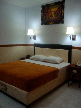 Hotel Sorga Cottages : bed