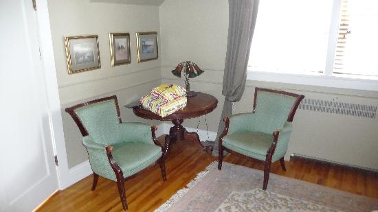 Bedford Place B&B : Sitting Area