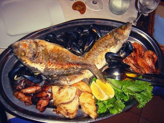 Ivan Restaurant : grigliata di pesce