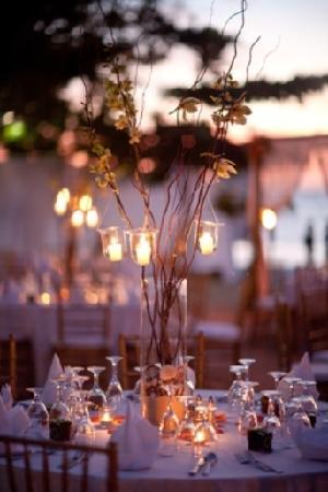 A Sunset Wedding Reception On Moon Dance Villas Beach Picture Of