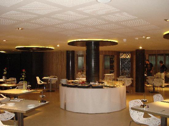 Hotel Banke: sala prima colazione