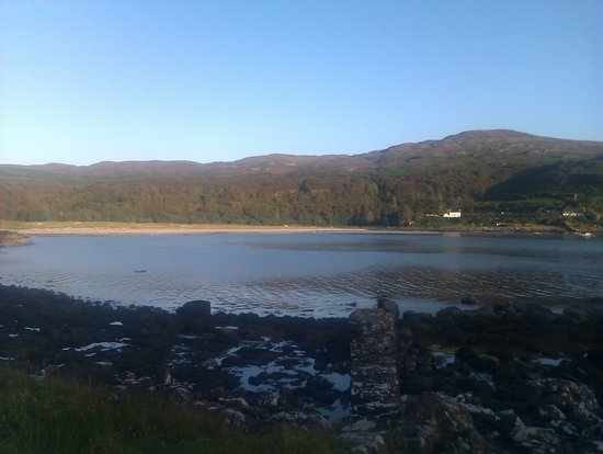Ilha de Mull, UK: The bay...