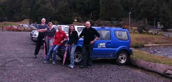 Off Road NZ: The team about to start our adventures
