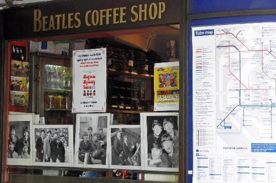 Abbey Road : Beatles Coffee Shop, St. Johns Wood