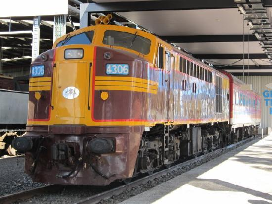 New South Wales Rail Transport Museum: 列車