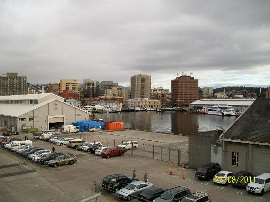 Somerset on Salamanca, Hobart: This is the view of the first Somerset on Salamanca