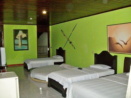 La suite del Hotel Pirarucú