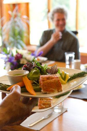 Mountain Trek Fitness Retreat & Health Spa: Delicious gourmet spa cuisine