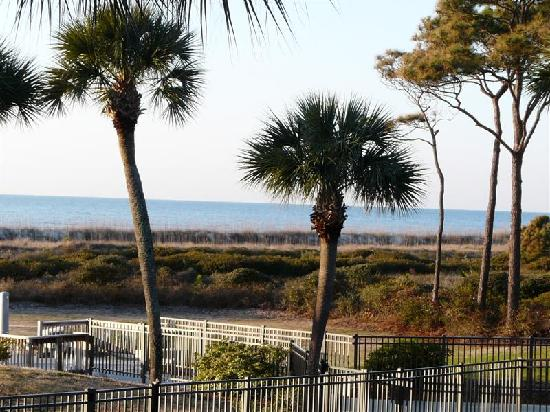 Seaside Villas Resort: View From Condo Balcony