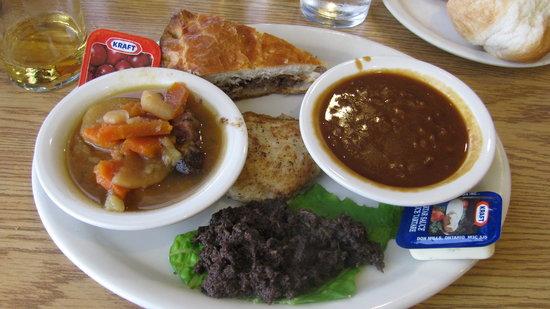 Acadian Restaurant : Acadian Dinner