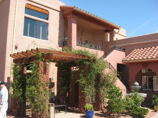 Las Posadas of Sedona: our room (top floor)
