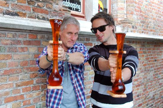 NH Brugge: Or even have two Belgium beers whilst in Bruges.